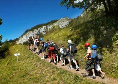 Alpen activiteit 4 wandeling