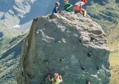 Alpen activiteit 5 kinderen klimmuur